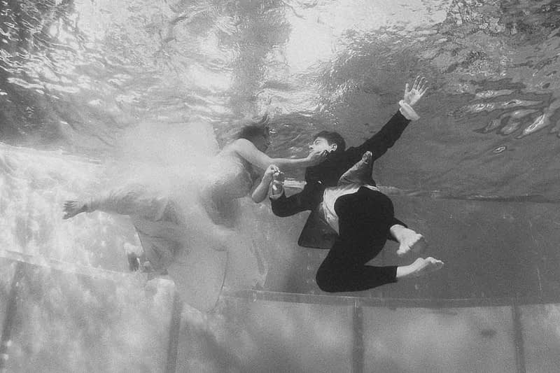 Underwaterphotography wedding