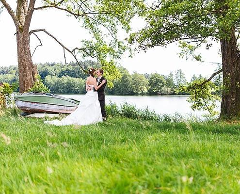 Hochzeitspaar Schleinsee
