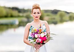 Pineapple und Roségold Hochzeitsmotto
