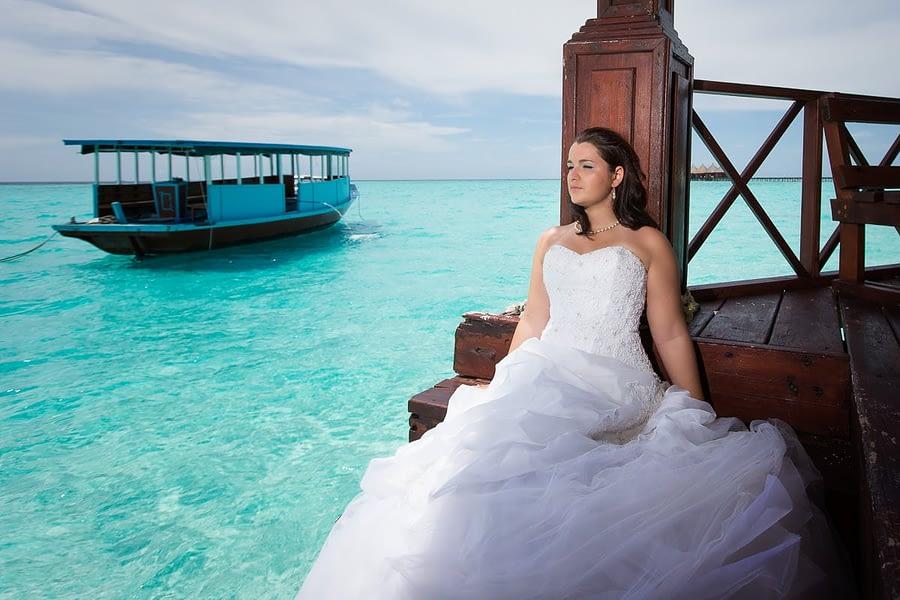 After-Wedding Malediven