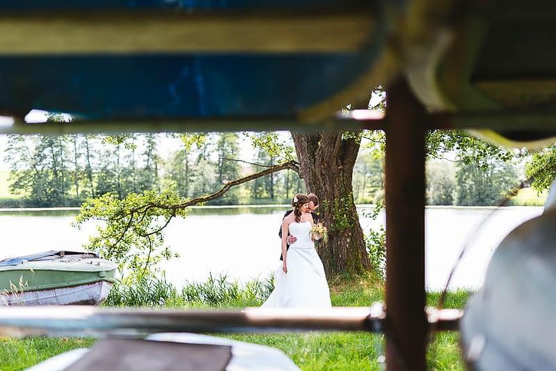 Hochzeitspaar am Schleinsee
