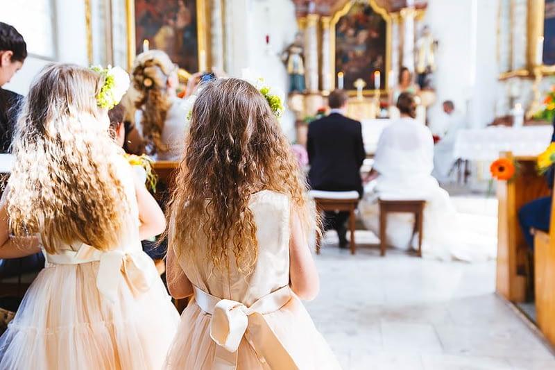 Kapelle Schleinsee Blumenmädchen