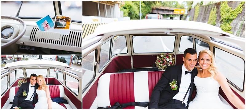 VW Bus Hochzeit